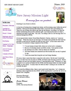 NJ District Winter 2019 Newsletter